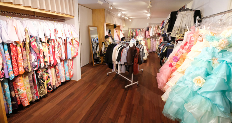 七五三・衣装室